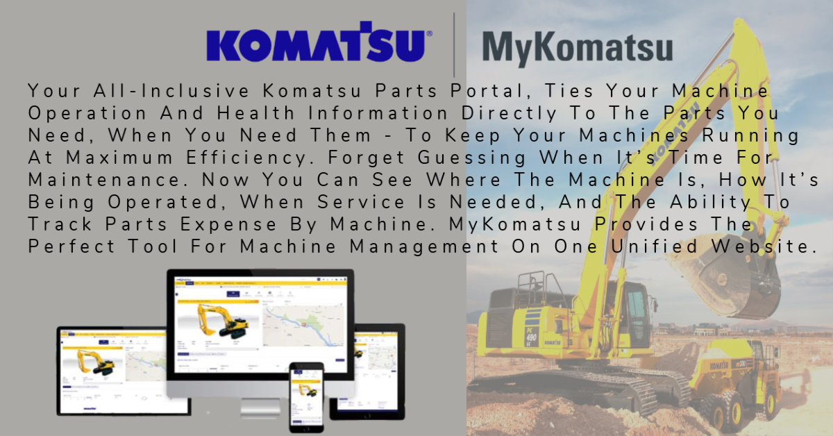 My Komatsu Add