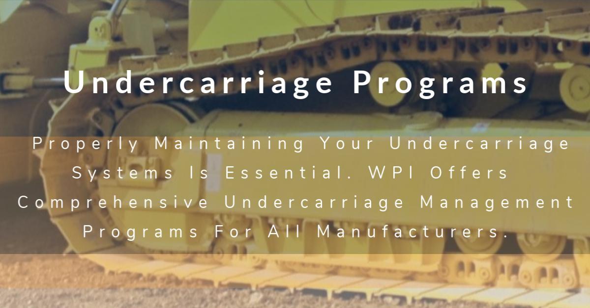 Undercarriage Programs